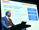 Toshiba reveals ambitions for sales growth