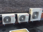 First UK installation of Toshiba's new high efficiency DI Air Conditioning Units