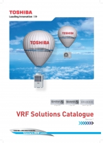 New Toshiba VRF Solutions Catalogue now available