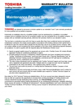 Maintenance Partner Scheme
