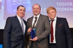 Toshiba wins two national awards