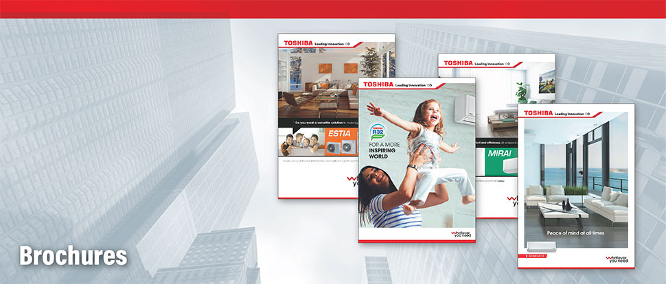 Product Brochures | Brochures Toshiba Air Conditioning