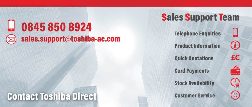 Contact Toshiba Direct - Toshiba Air Conditioning