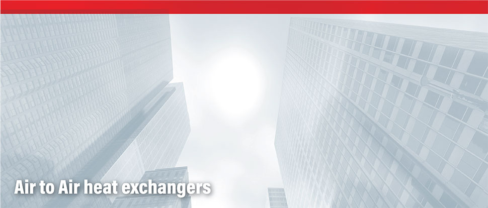 Air to Air heat exchangers Products - Toshiba Air