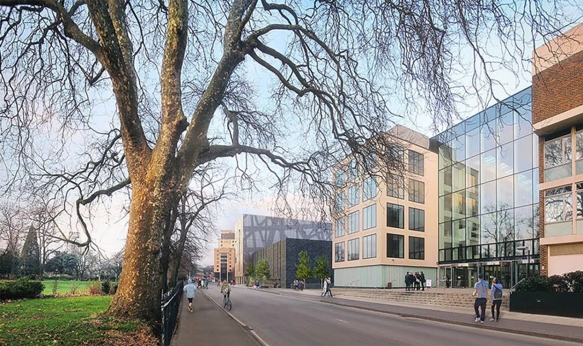 "Designed to achieve a BREEAM rating of ""Excellent"", the building also complies with Southampton City Council's Strategy on tacking and adapting to climate change."