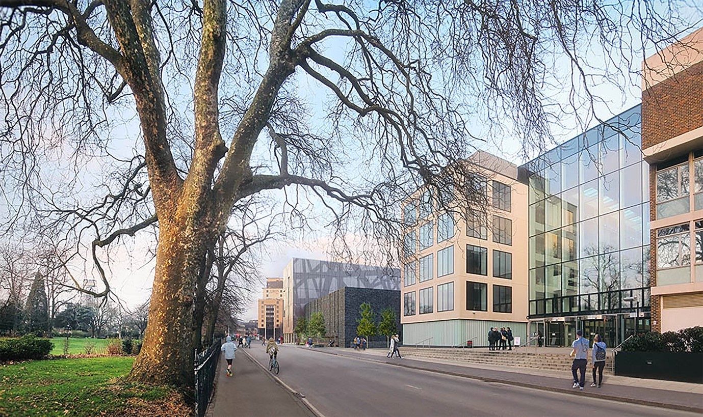 """Designed to achieve a BREEAM rating of """"Excellent"""", the building also complies with Southampton City Council's Strategy on tacking and adapting to climate change."""